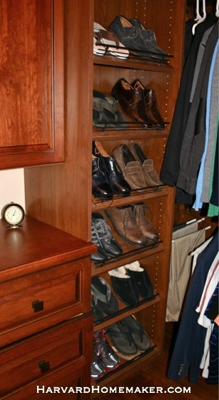 Install Shoe Racks That Adjust