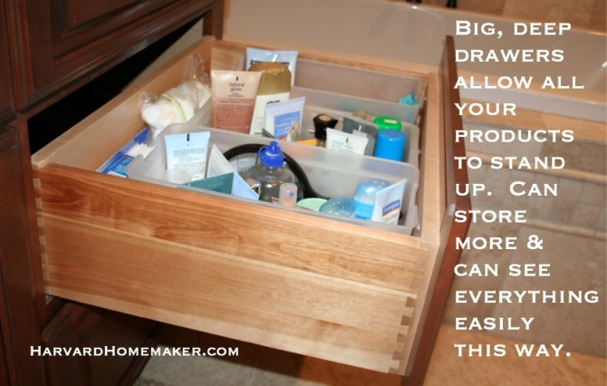 Deep drawer storage solutions best storage design 2017 Best way to organize kitchen cabinets and drawers