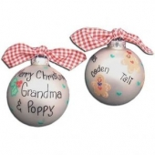 Gingerbread Christmas Ball Ornament | MyBambino