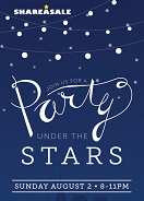 ShareASale Under the Stars Party - Get your Invitation!