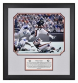 Walter Payton Framed Photograph