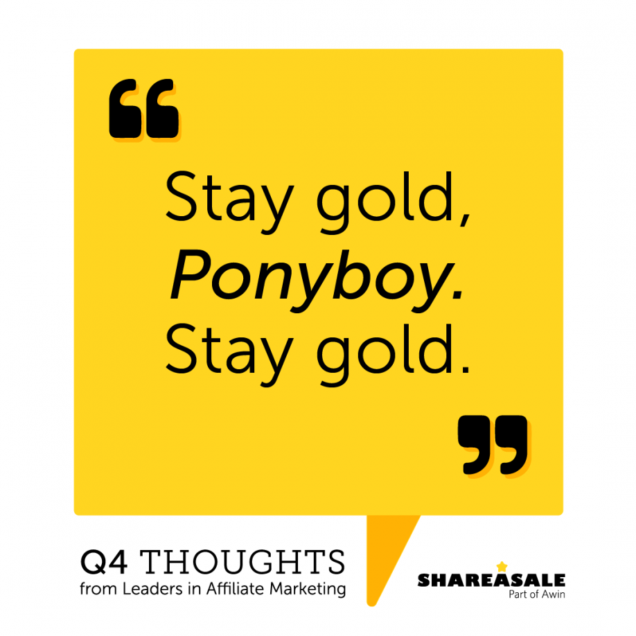 Q4 Thoughts Stay Gold Ponyboy He always says it's soap opera for high schoolers. q4 thoughts stay gold ponyboy