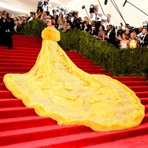 WOW! What a dress Rihanna