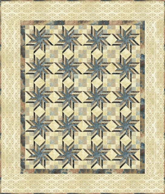 Sandstorm by Upper Canada Quiltworks