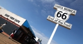 Route 66 in California - The End of Route 66