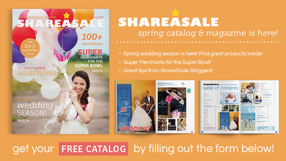 ShareASale Spring 2016 catalog released! - ShareASale Blog