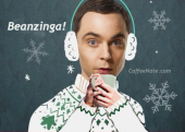 Beanzinga! :: Sheldon Cooper Drinking Coffee