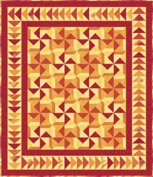 Sizzling Sunset by Upper Canada Quiltworks