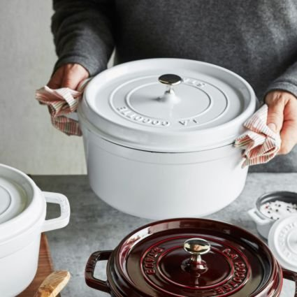 Staub Cookware in White