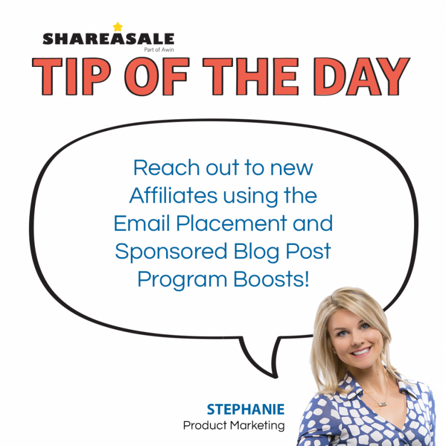Email Placement & Sponsored Blog Program Boosts