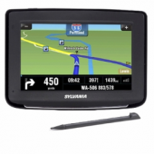 Sylvania Touchscreen Portable GPS Navigation System w/USA Maps & Text to Speech | SnaggStuff