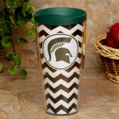 Michigan State Spartans Tervis Tumbler 24oz. Chevron Tumbler | Fanatics.com