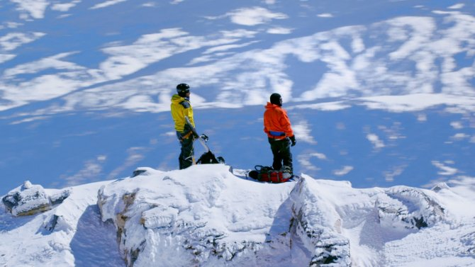 Behind The Scenes Of The Snowboarding Film 'Higher'