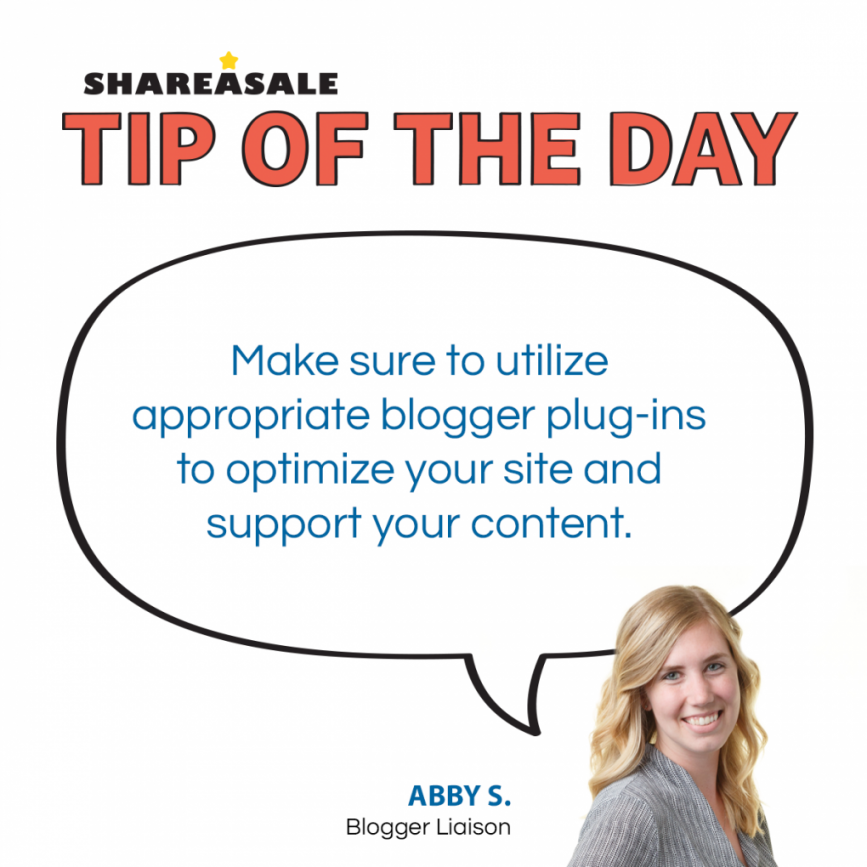 Tip of the Day: Plugins for Bloggers