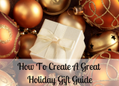 The Society of Shop Blog · How To Create A Great Holiday Gift Guide