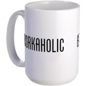 Workaholic - Go Home. Mug | CafePress