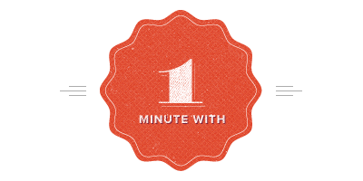 One Minute With Logo