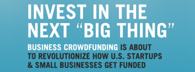 Crowdfunder Invest in the next big thing