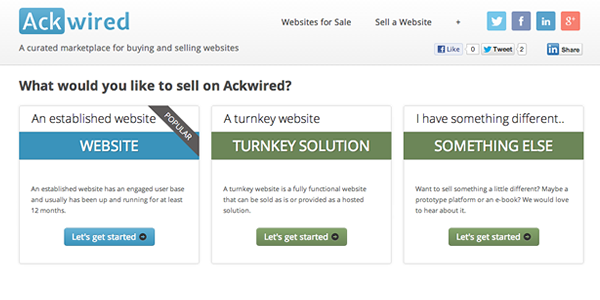 Ackwired-buy-sell-websites