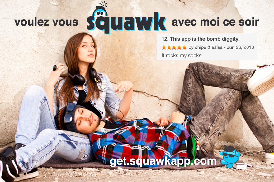Squawk-chat-messenger