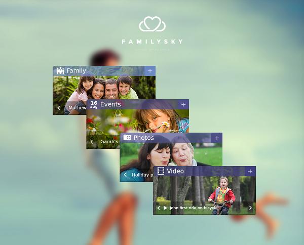 FamilySky-menu