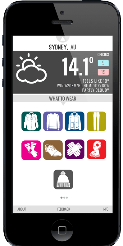 wearther-mobile-app