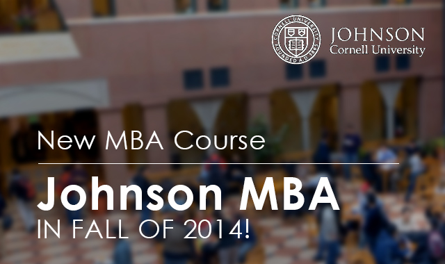 Cornell-johnson-MBA-course