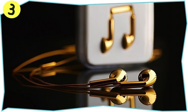 the-gadget-flow-Happy-Plugs-Gold-Earbuds