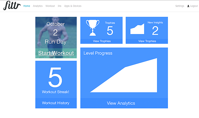 Fittr-fitness-app-dashboard
