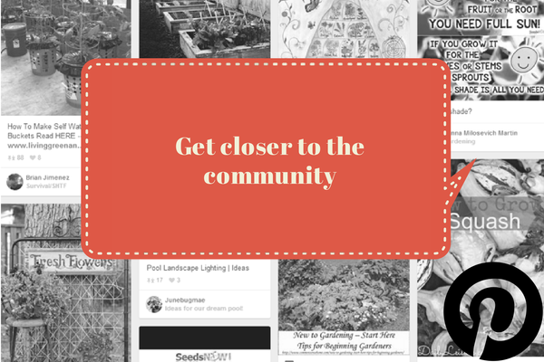 Get closer to the community