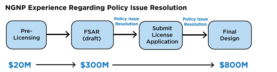 NGNP Experience Regarding Policy Issue Resolution