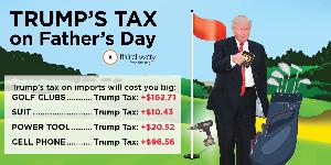 Sorry, Dad: Trump