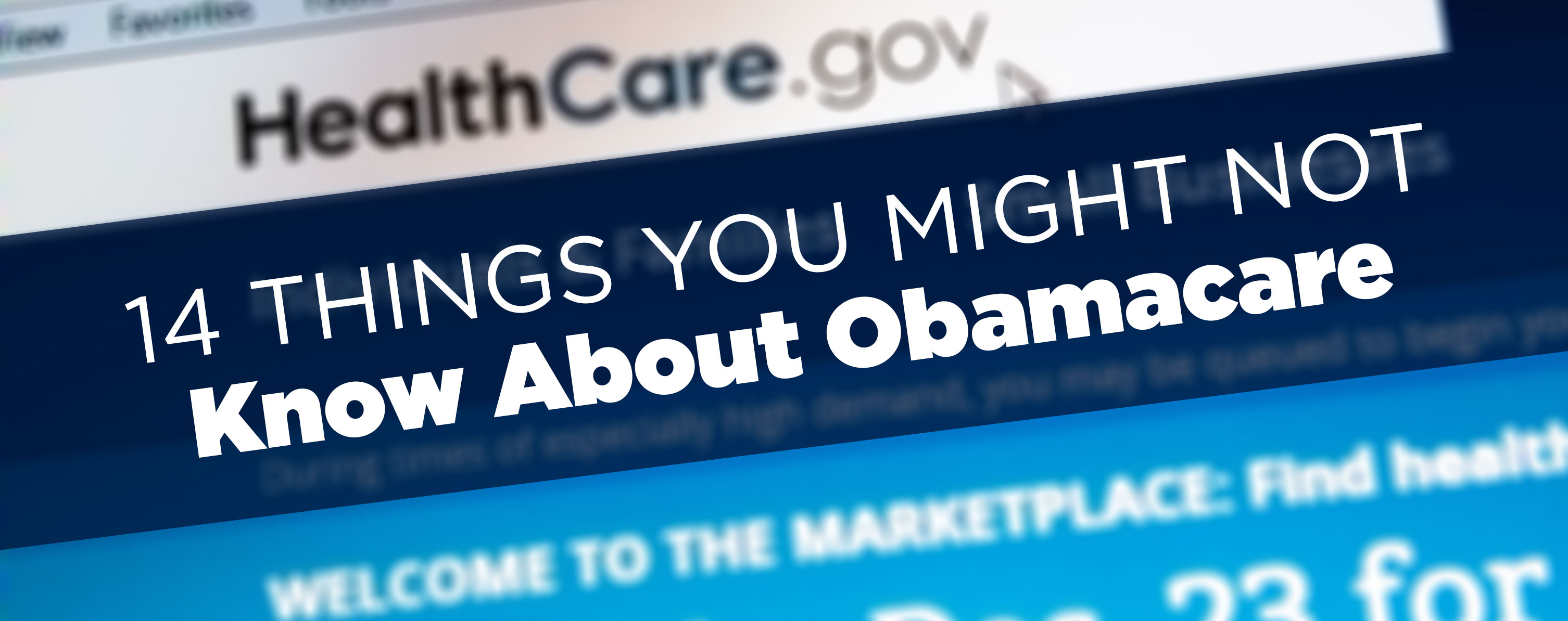 14 things you might not know about Obamacare