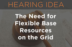 The Need for Flexible Base Resources on the Grid