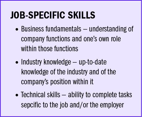 Job-Specific Skills