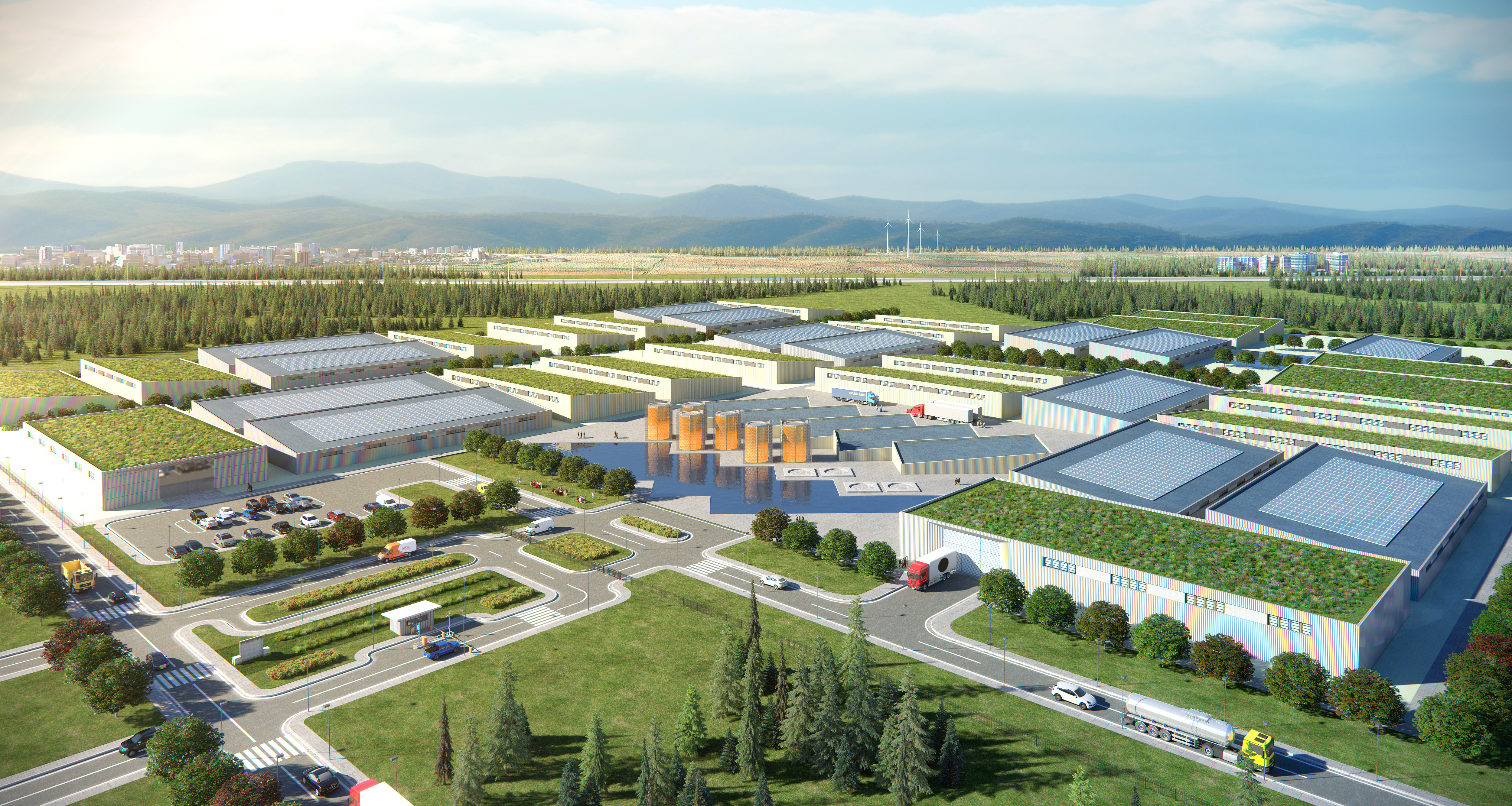 Data Center rendering