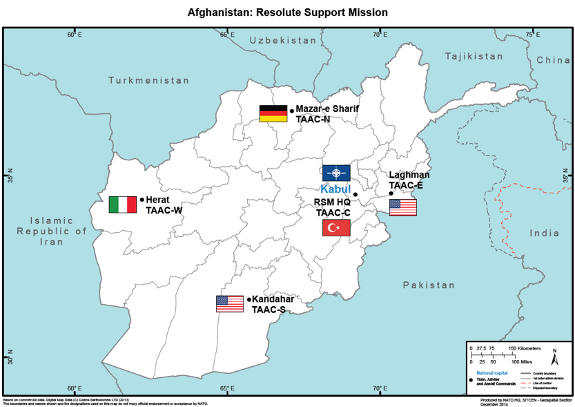 Afghanistan: Resolute Support Mission