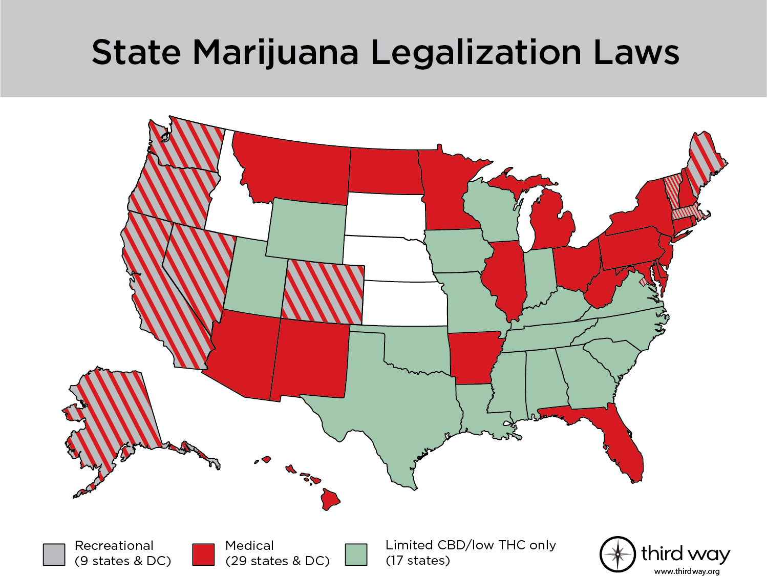 Map of State Legalization Laws – Third Way Laws By State Map on maps colorado, maps washington, maps mk, biggest college in each state, maps city, maps united states, most white populated state, maps oklahoma, map of each state, biggest us state, maps ohio, maps maps, maps to color, wealthiest person in each state, maps brazil only, maps virginia, biggest company in each state, world's richest state, 2014 state of the state,