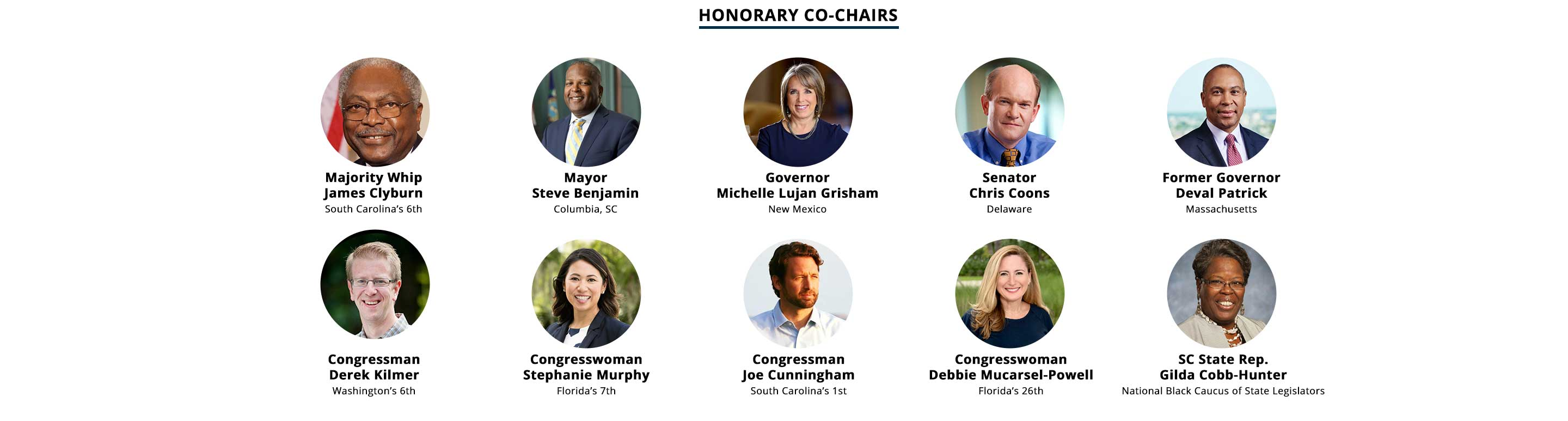 Opportunity 2020 Honorary Co-Chairs