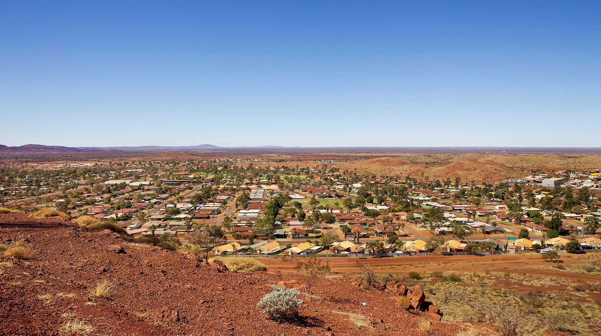 Newman Mining Town in Western Australia