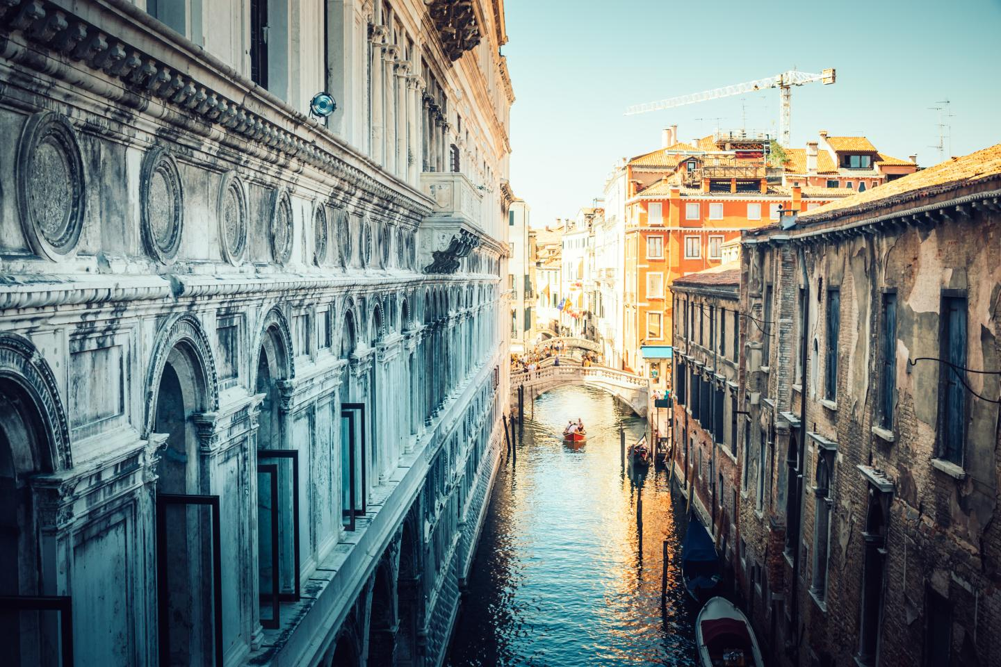 Teens exploring Venice summer tour Italy