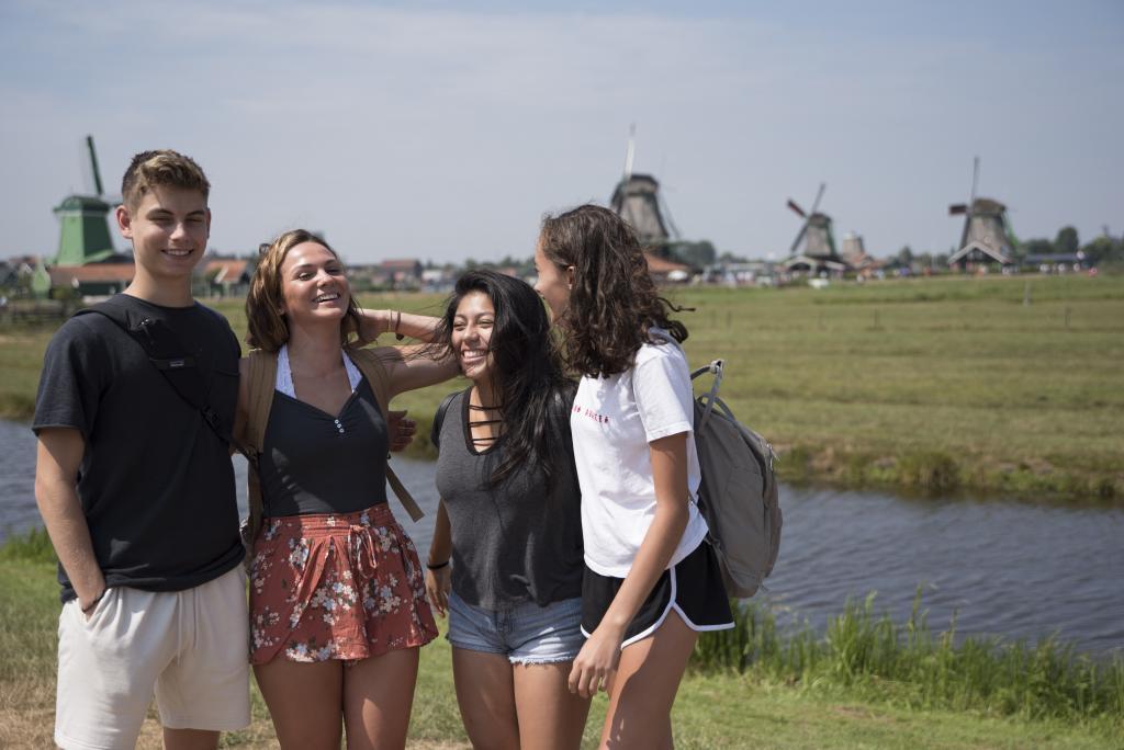 Amsterdam Belgium Paris Travel For Teens Summer Program