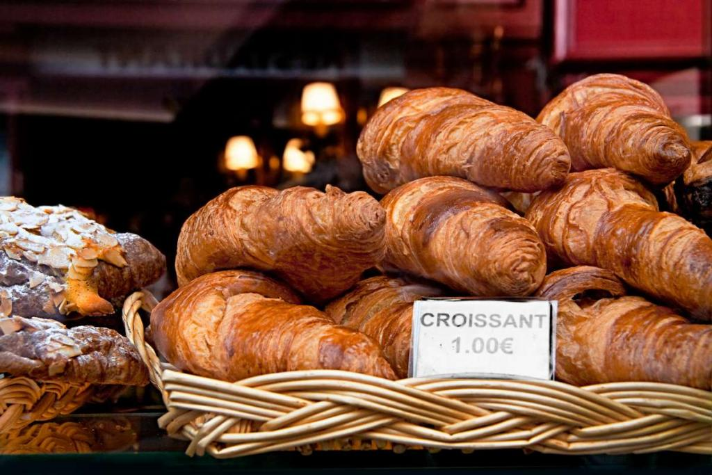 Authentic French food in Paris eaten by teens on summer travel program