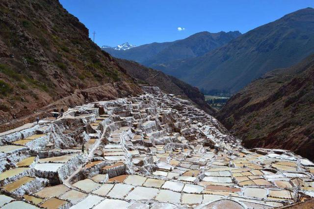 Students capture a bizarre landscape in Peru on their teen summer tour of Latin America.