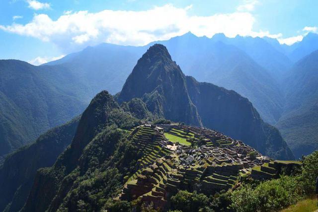 View of Machu Picchu in Peru from a teen travel trip to Latin America