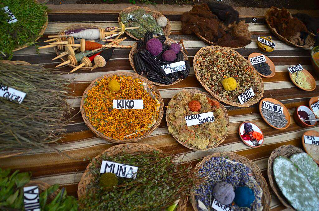 Teens discover local spices on their summer travel tour of Peru.