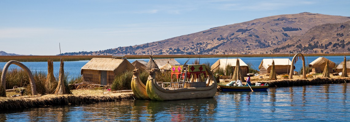 Teens discover Lake Titicaca on their summer adventure program in Peru.