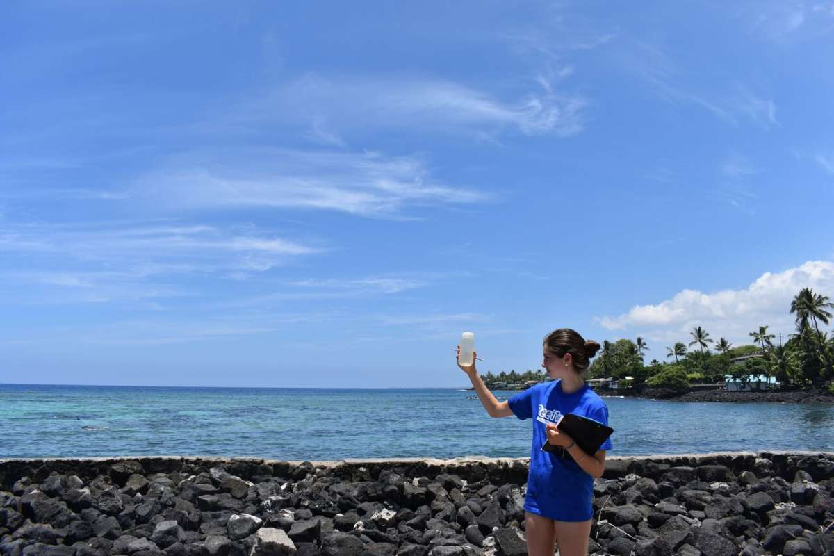 Students learn about marine conservation in Hawaii on ultimate summer teen program.