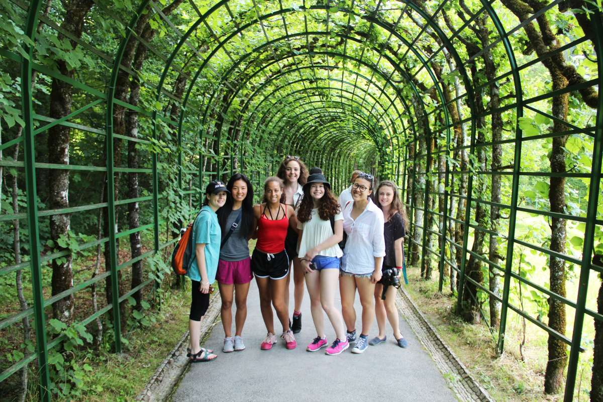 Teens explore European park on summer youth travel program
