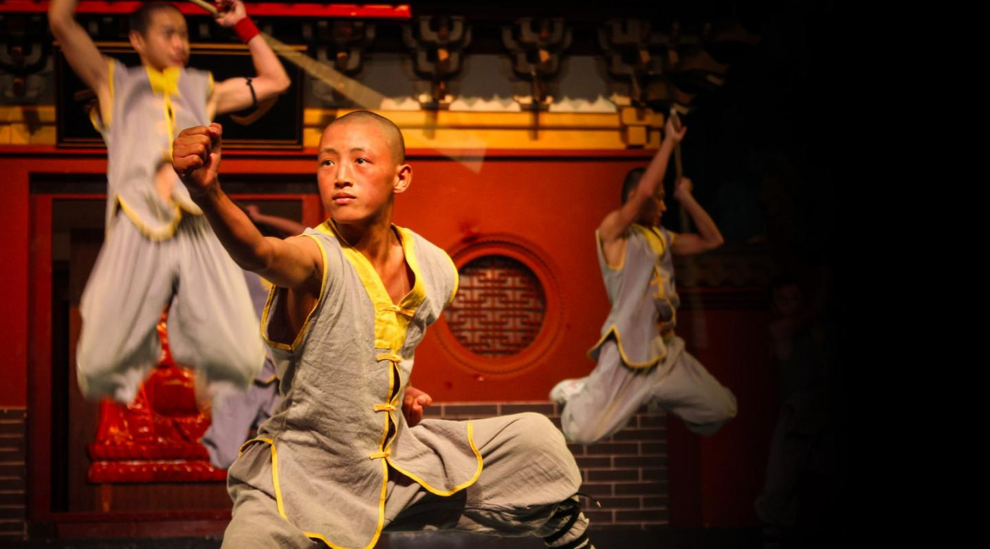High school traveler captures a traditional performance in China on their summer teen tour.